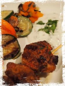 Kebab ist fertig!