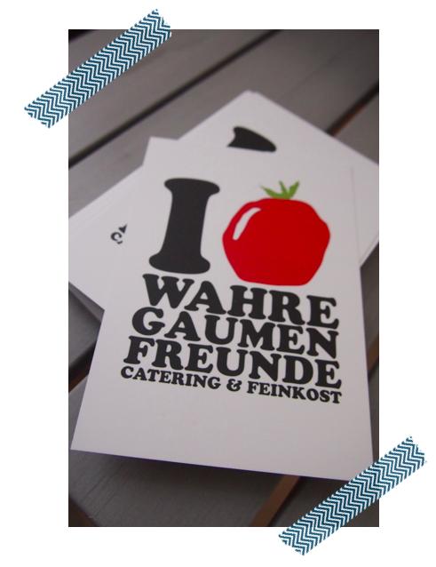 I love wahre Gaumenfreunde!