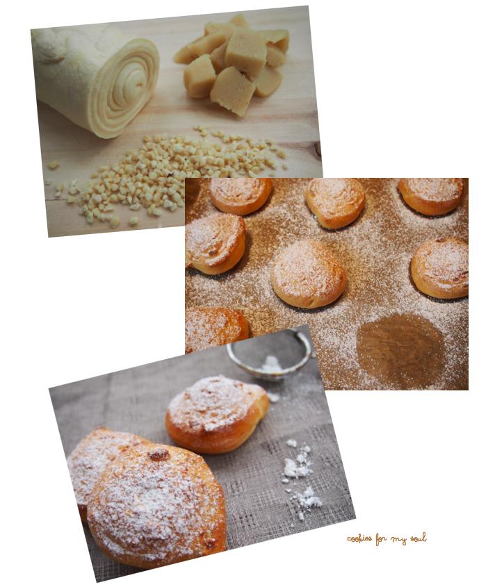 Marzipan-Schnecken 1