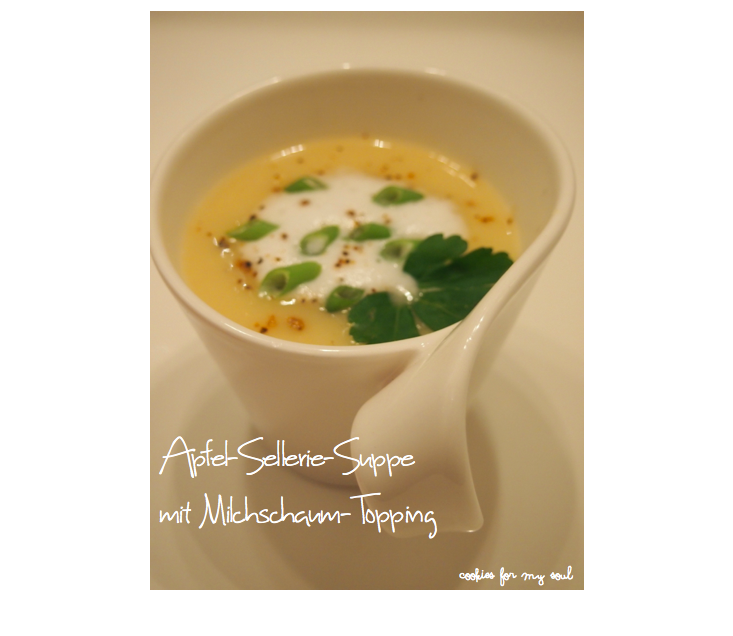 Apfe-Sellerie-Suppe 1
