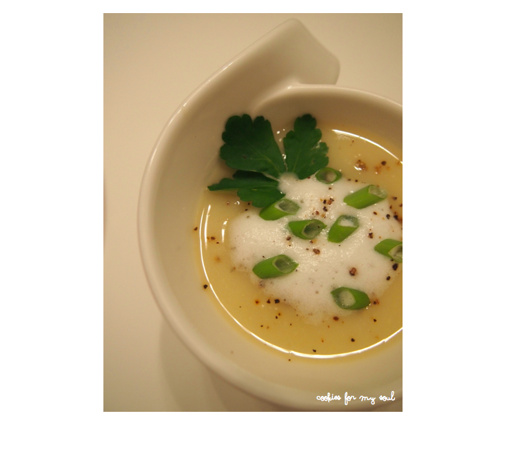 Apfel-Sellerie-Suppe 2
