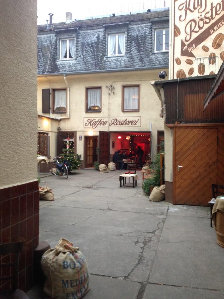Innenhof Stern Kaffee