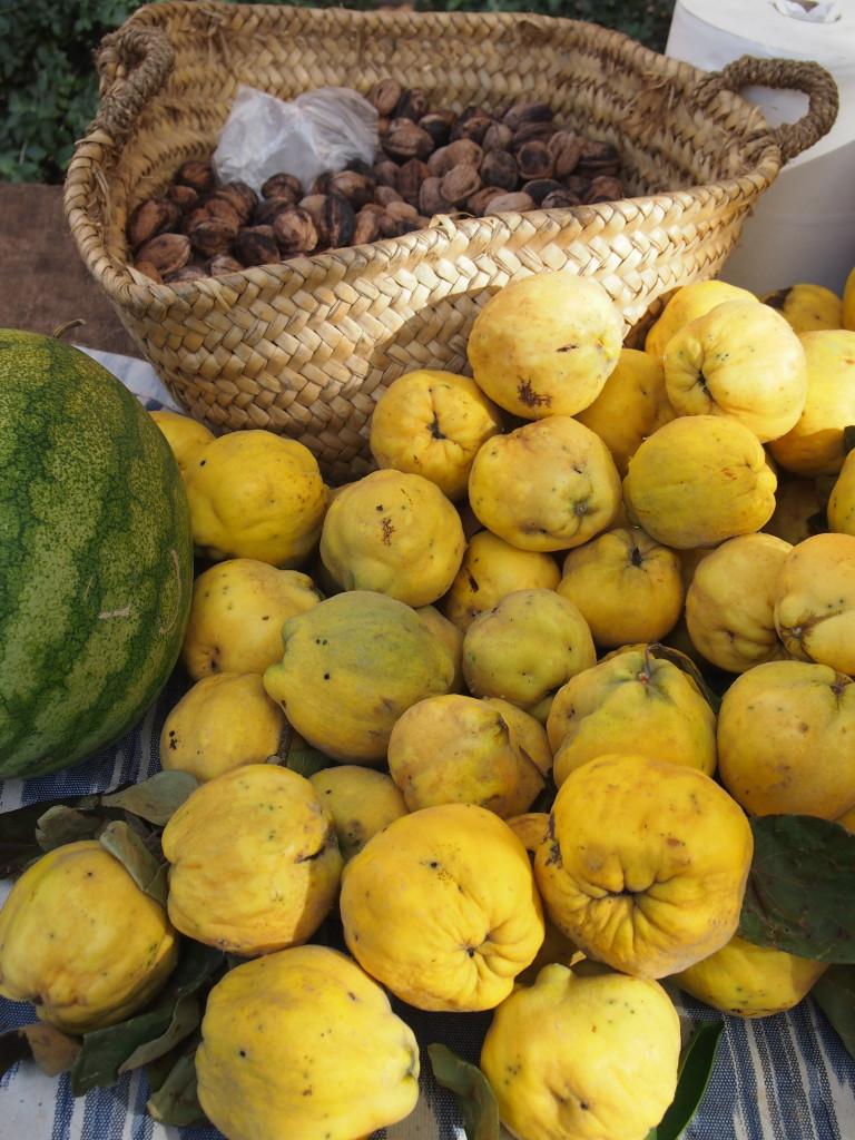 Herbstlicher Markt in Santa Maria