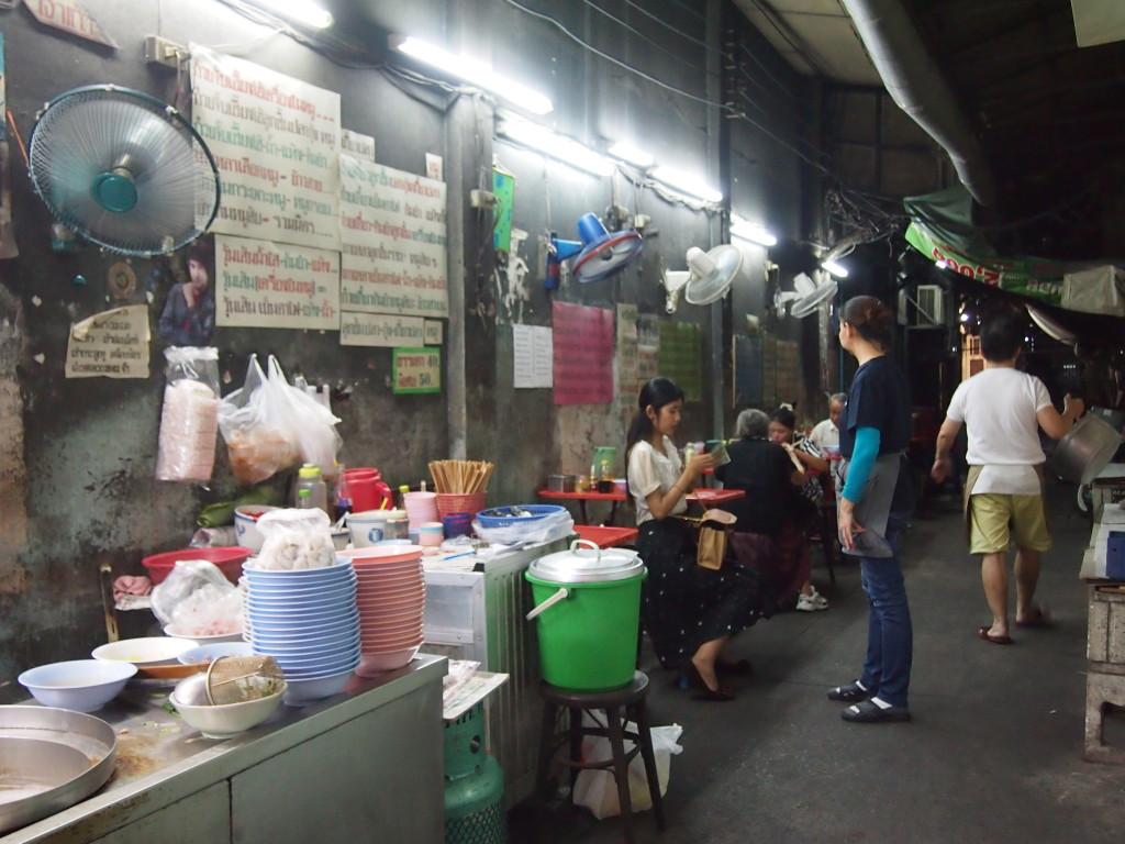 Street Food entlang der Charoen