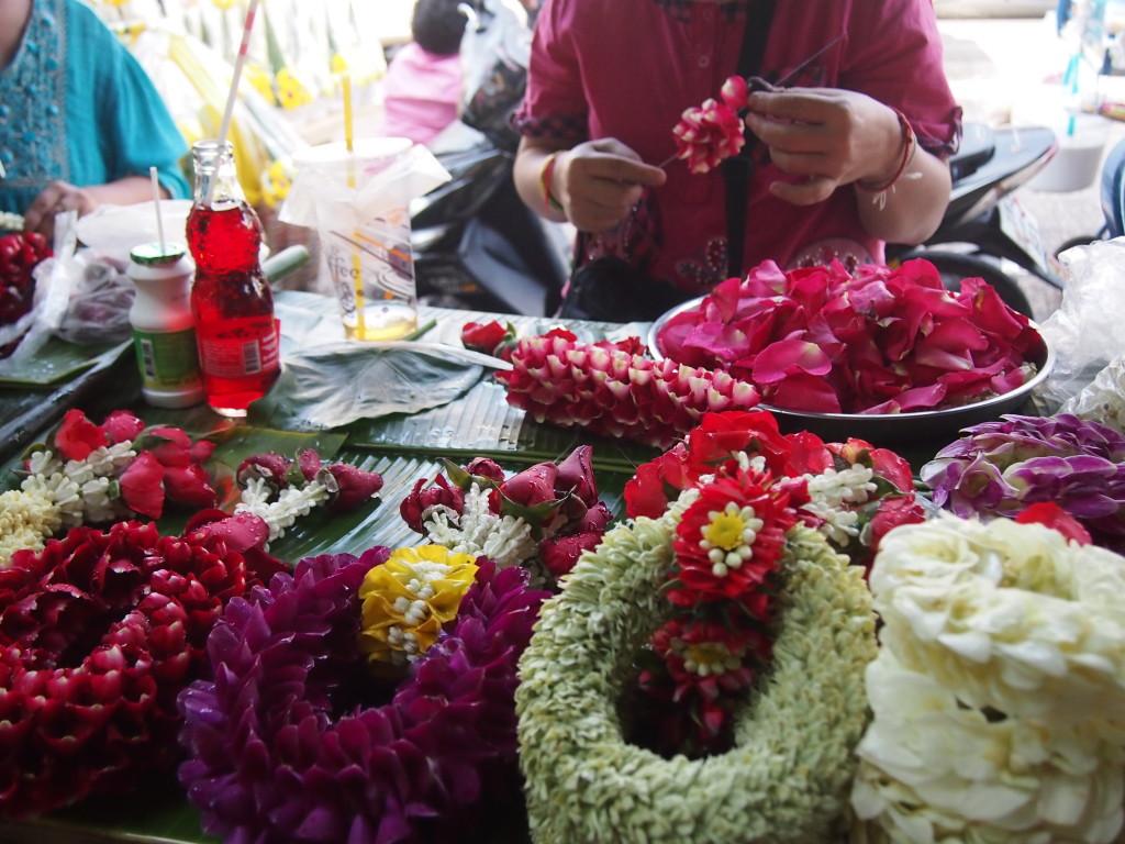 Blumenmeer Pak Khlong Talaat