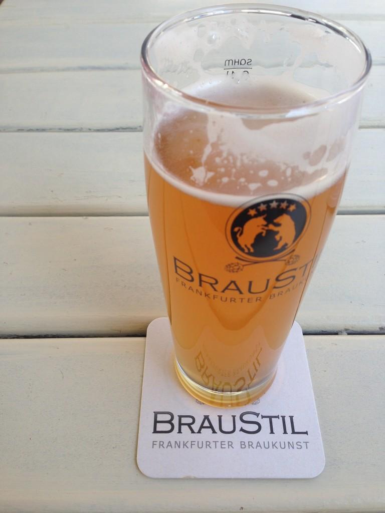 Bier im Braustil