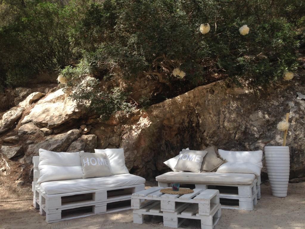 Lounge-Ecke im Cala Cap Falcó