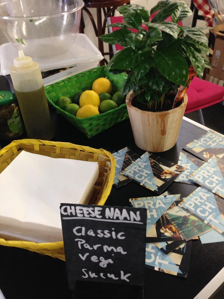 Cheese Naan a la Pracht