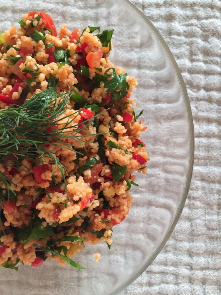 Couscous-Salat ist fertig!