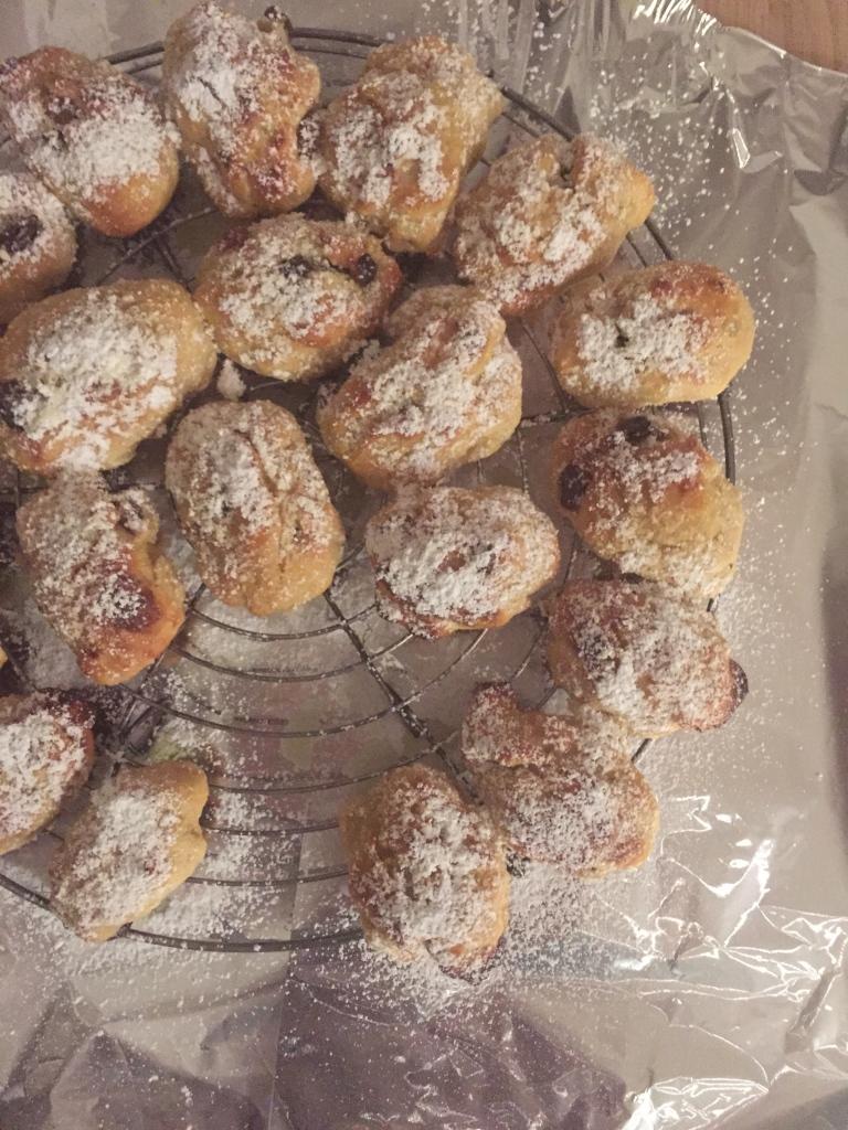 Muße für Weihnachtsbäckerei