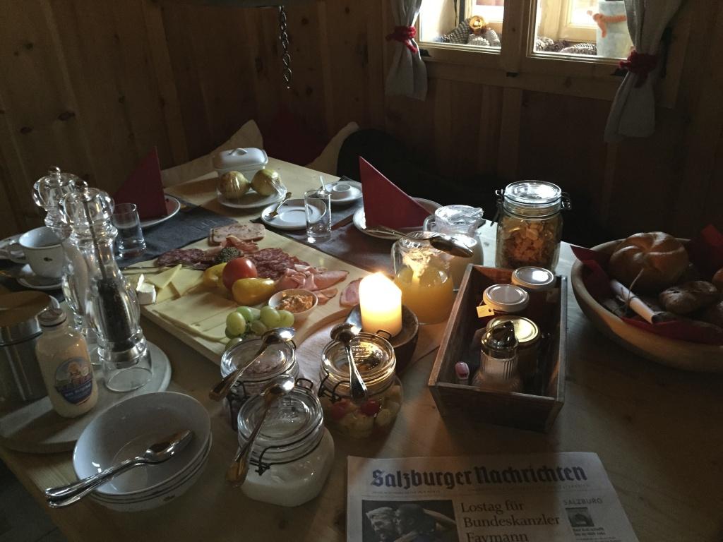 Frühstück im Priestern