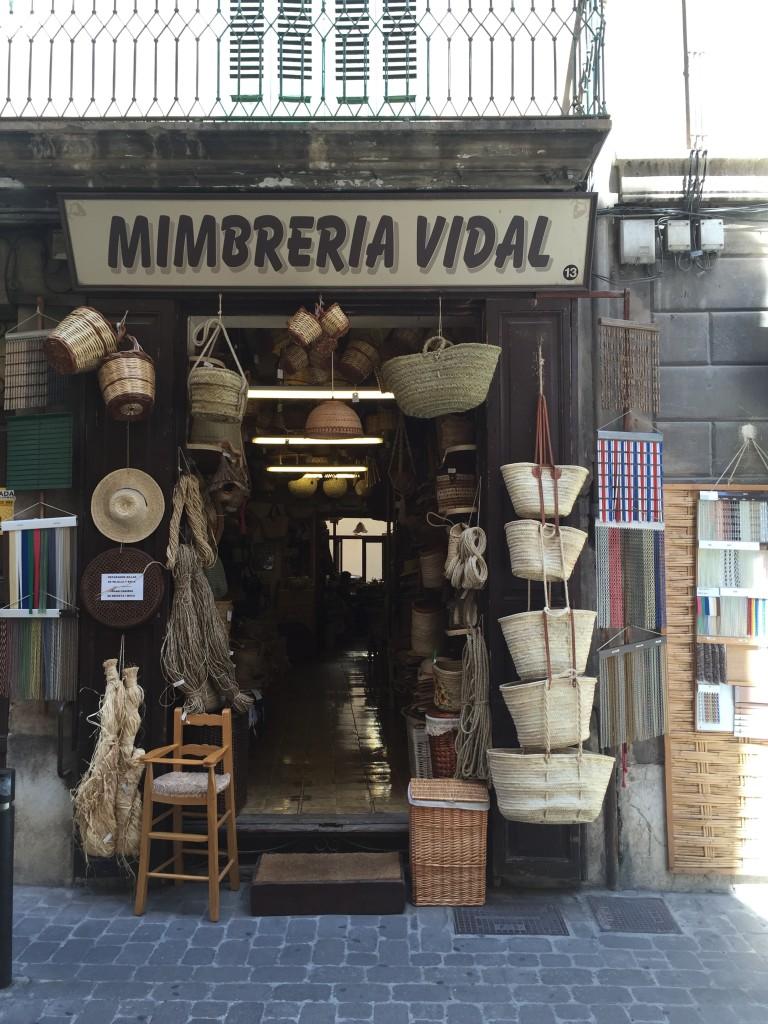 Mimbreria Vidal in Palma de Mallorca