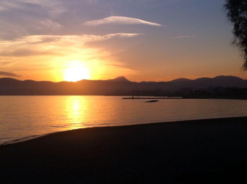 Sonnenuntergang im Almare, Palma de Mallorca