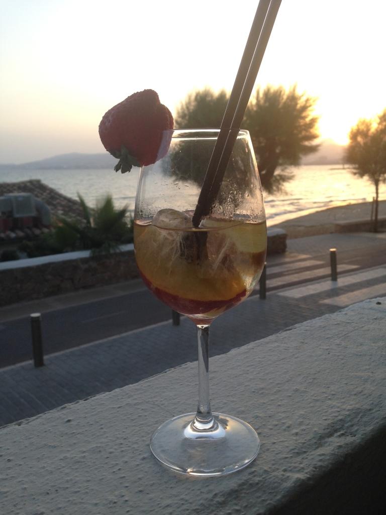 Sundowner im Almare, Palma de Mallorca