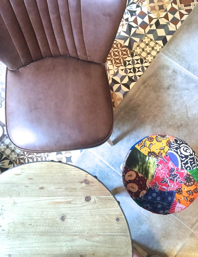 Cafeteria im Mercado San Juan