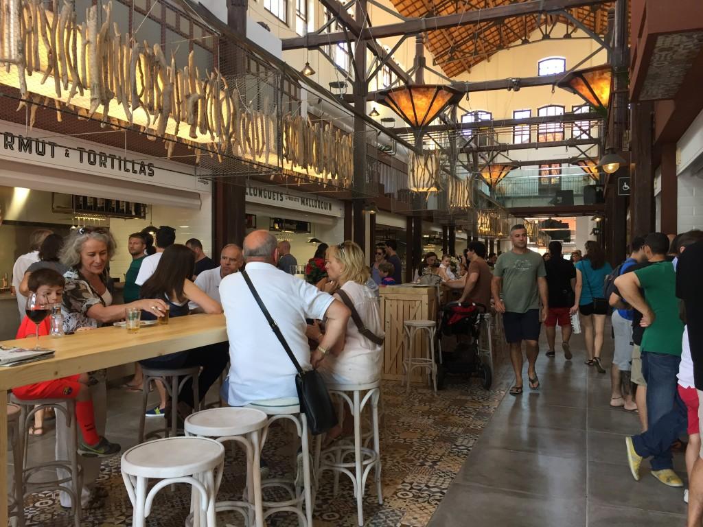 Im Mercad San Juan in Palma de Mallorca