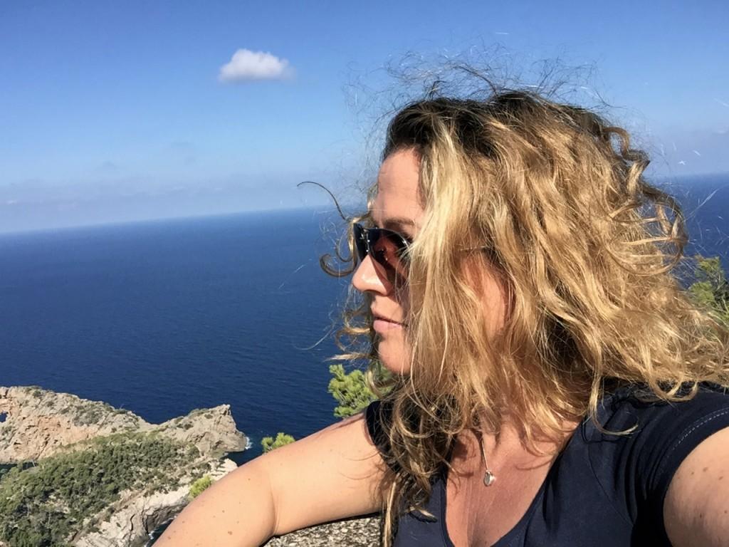 Blick auf Na Foradada, Mallorca