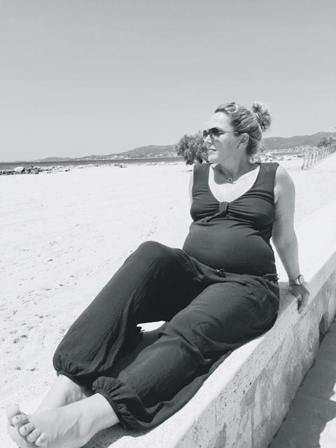 Mein Bauch und ich im Juni
