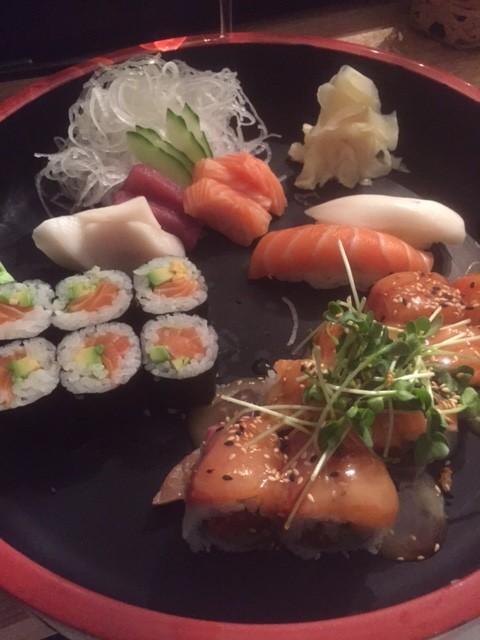 Sushi im Moriki, Frankfurt