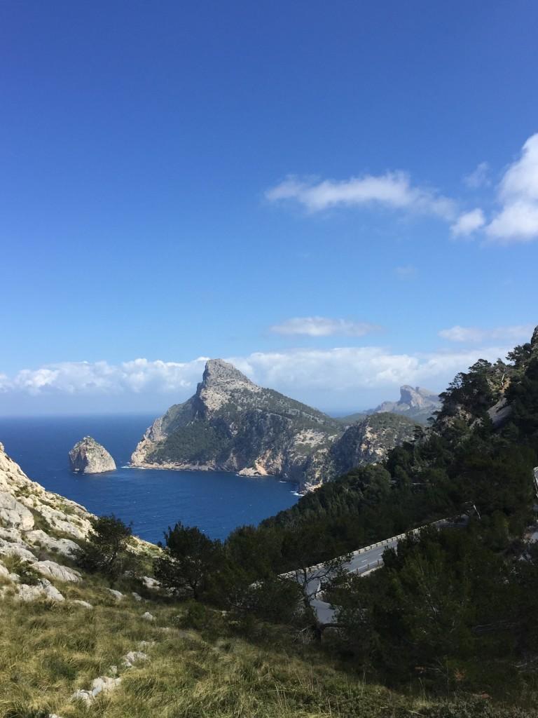 Auf dem Weg zum Cap Formentor, Mallorca