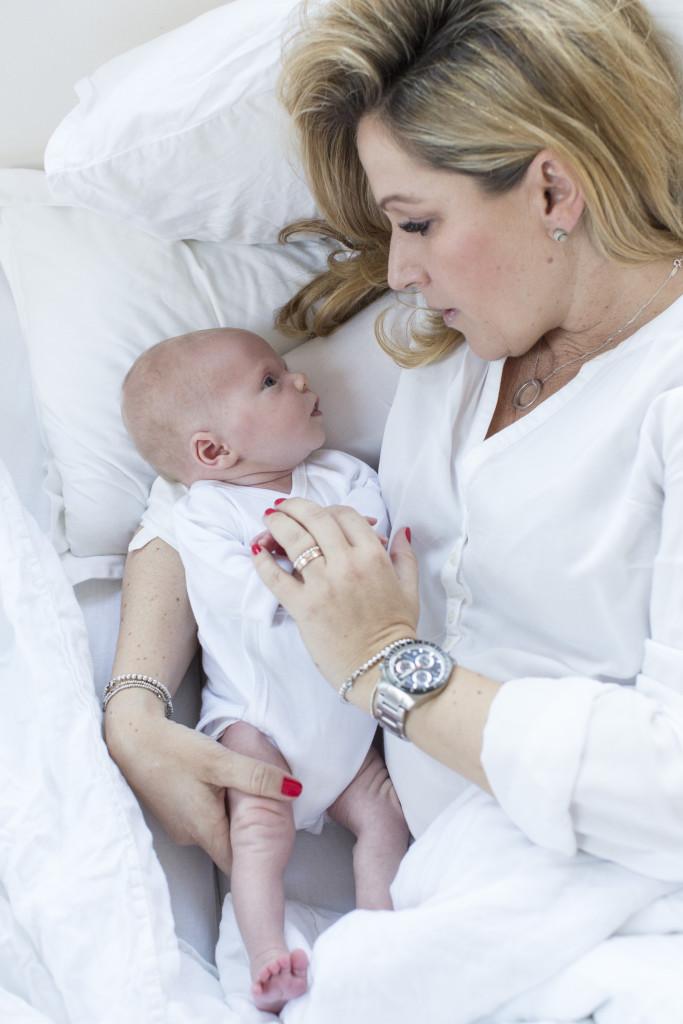Vincent Jacob und seine Mama