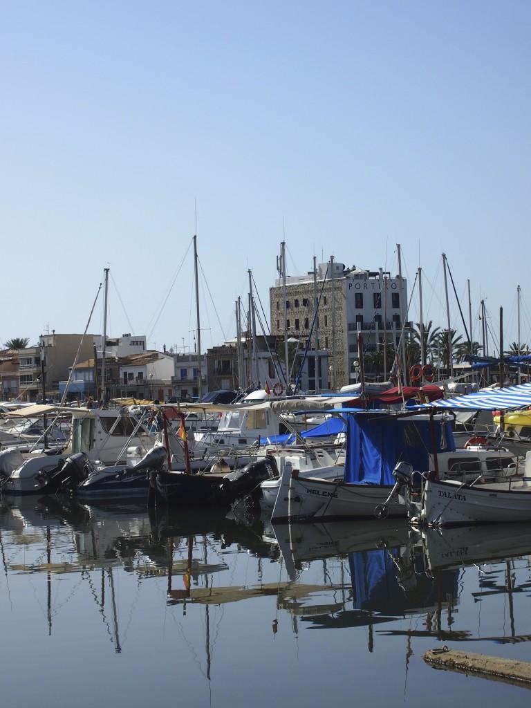 Der Hafen von Portixol, Mallorca