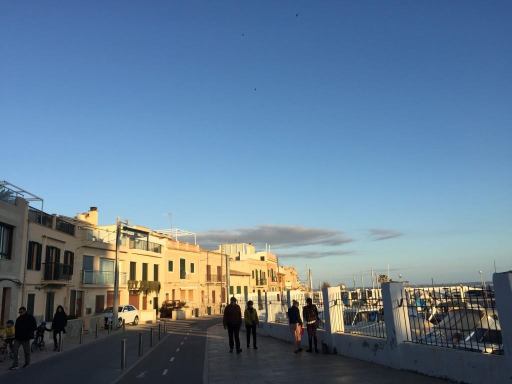 Die Promenade von Portixol, Mallorca