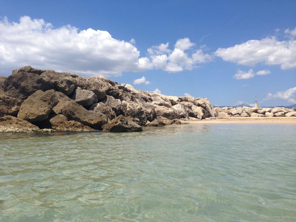 Am Strand von Es Molinar, Mallorca