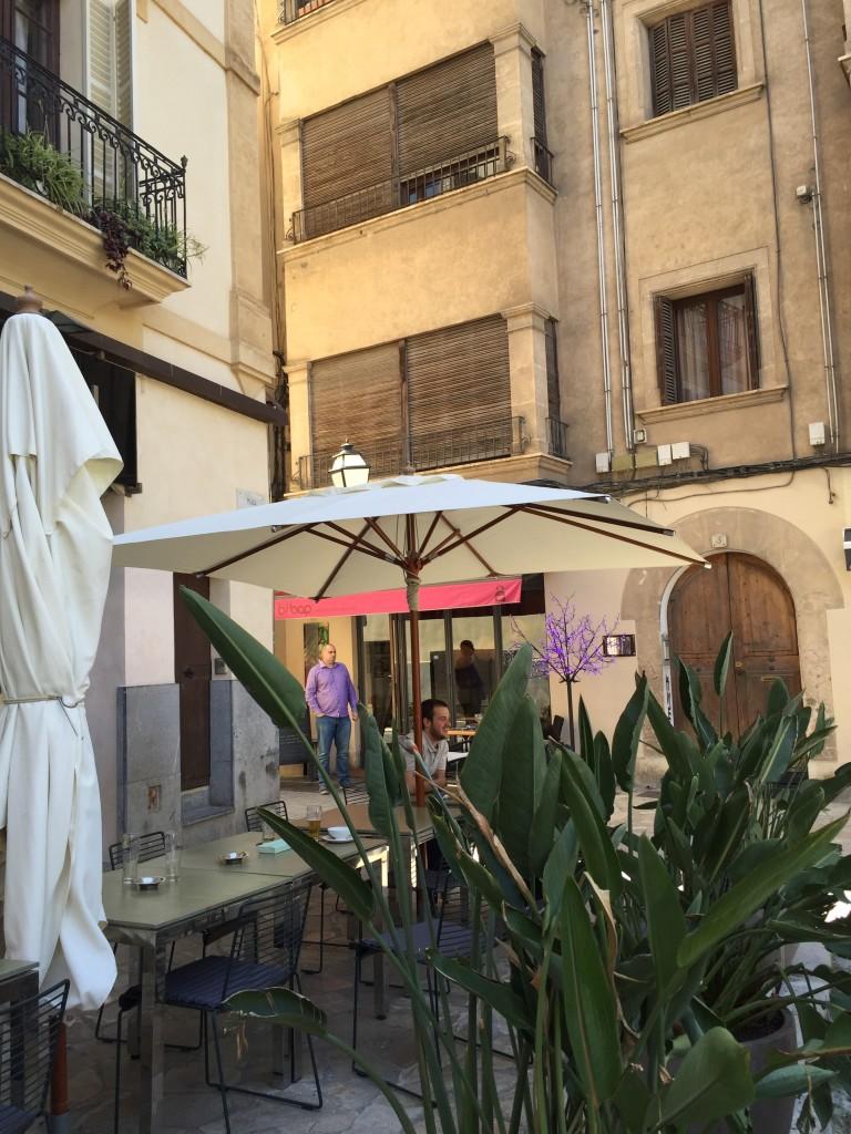 Vor dem BI BAP in Palma