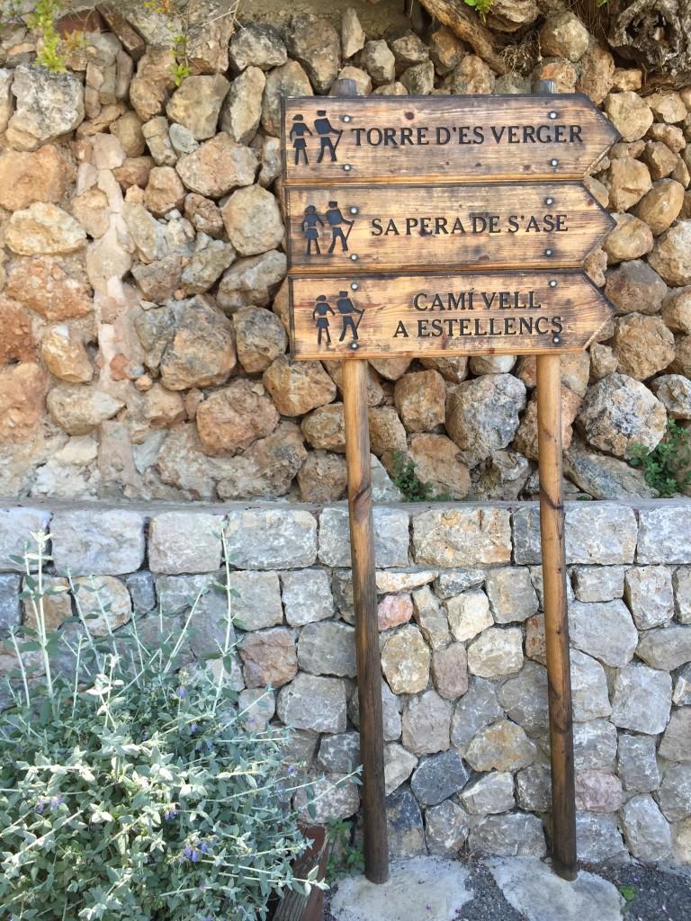In Banyalbufar auf Mallorca