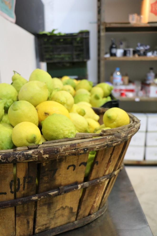 Zitronen für Gin Eva