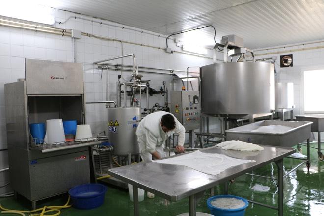 Produktion bei Formatges Burguera