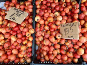 Tomaten auf dem Markt in Binissalem