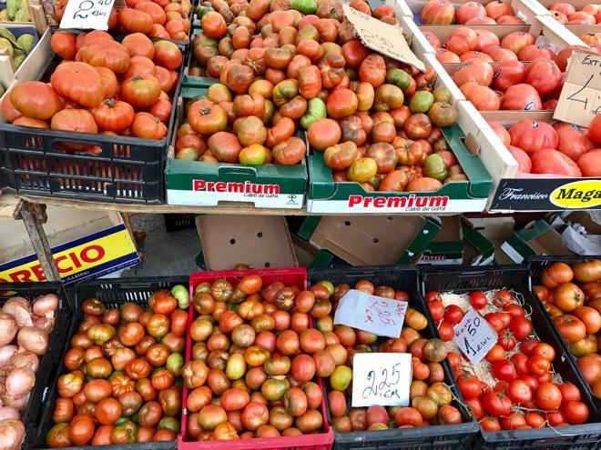 Tomatensorten auf Mallorca