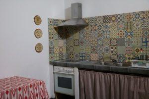 Küche im Sa fita baclpackers