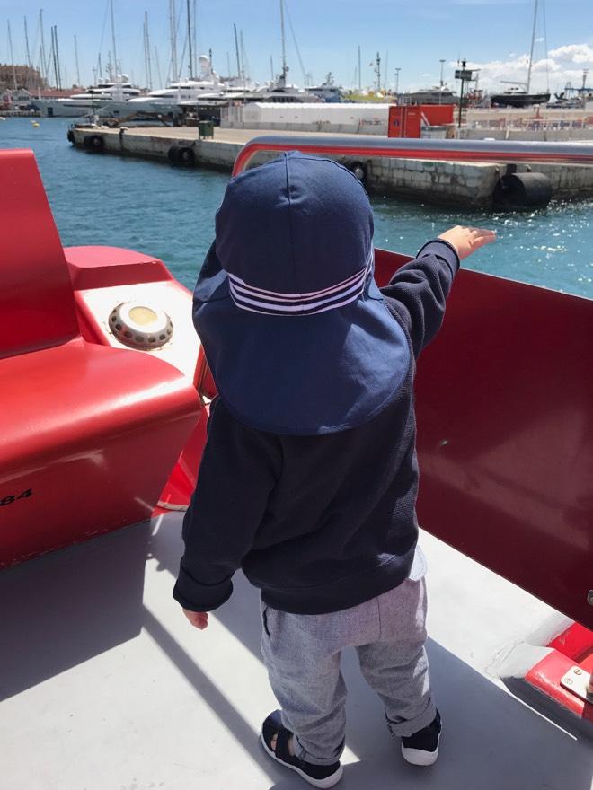 Hafenrundfahrt mit der Familie in Palma de Mallorca