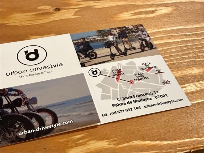 Urban Drivestyle Mallorca Kontakt