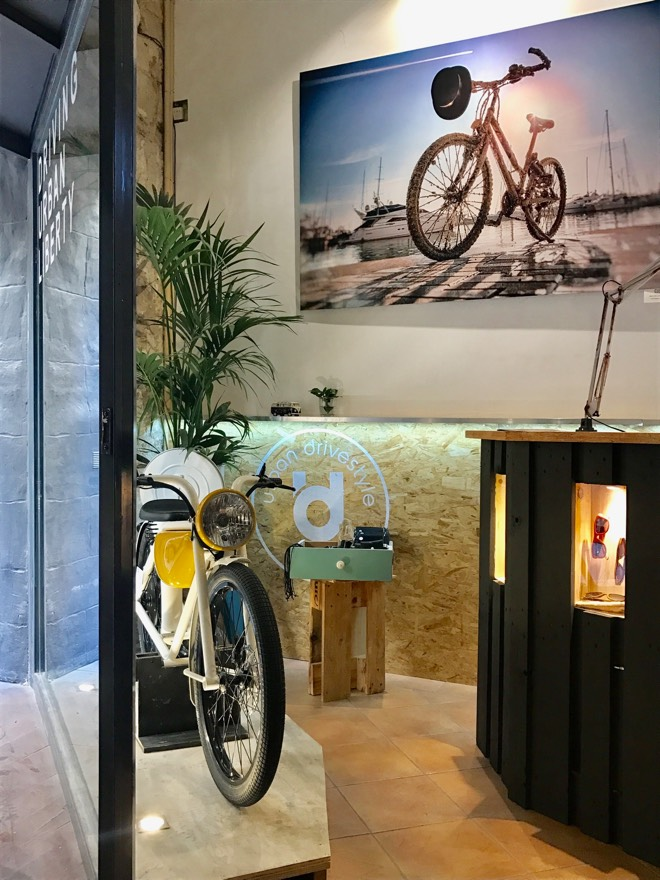 Der Shop Urban Drivestyle in Palma