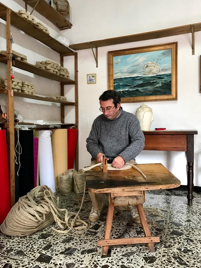 Handgemachte Espandrilles aus Mallorca