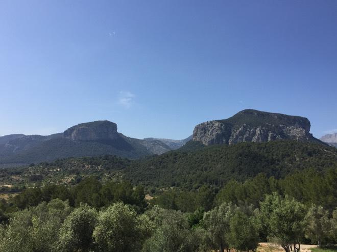 Ausblick von Castell Miquel