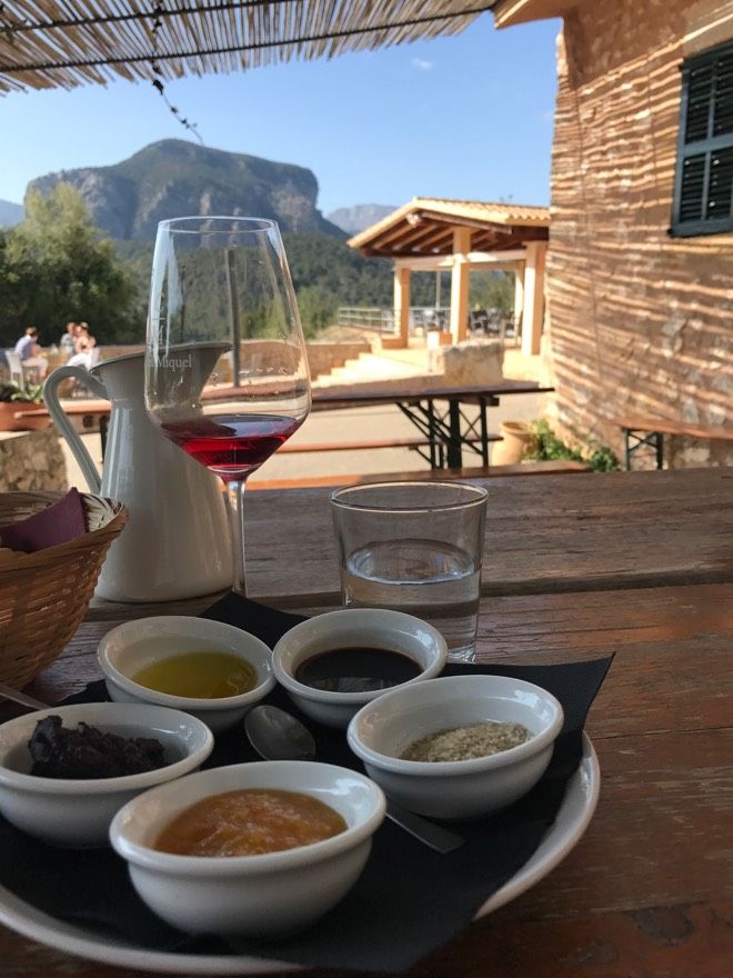Weinprobe bei Castell Miquel