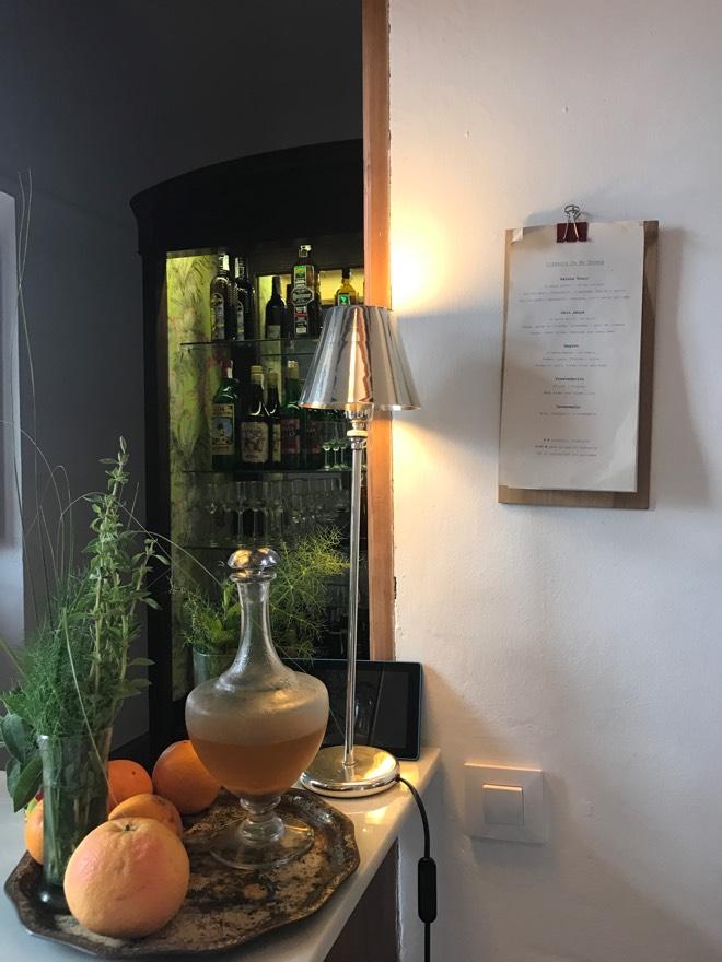 Bar im Shop des Ca Na Toneta