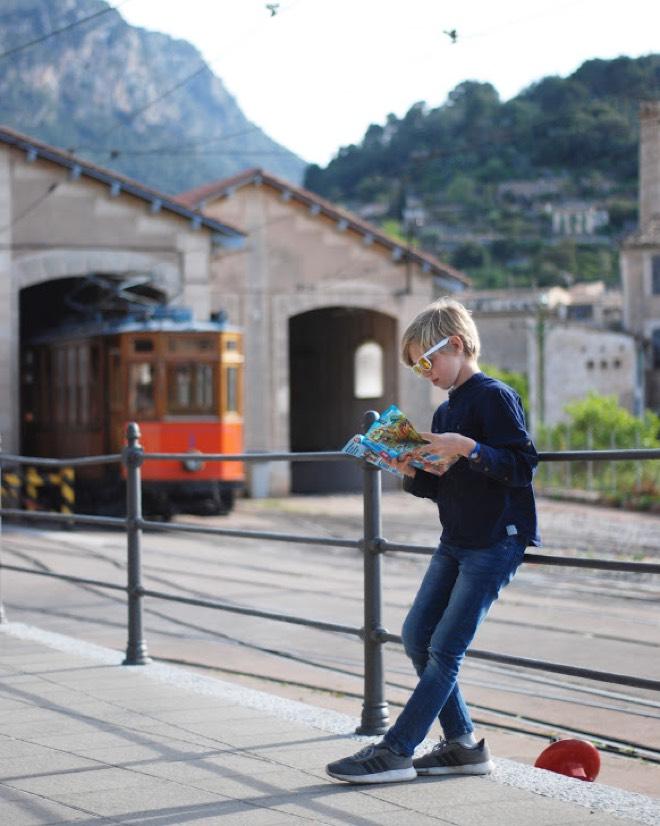 Mallorca-Urlaub mit Kindern Roter Blitz Mallorca