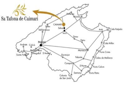 Sa Tafona de Caimari Anfahrt