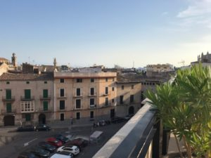 Ausblick vom Dach des Sant Francesc Hotel