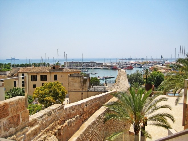 Terrasse Es Baluard Palma de Mallorca