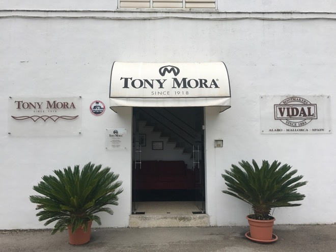 Tony Mora in Alaró