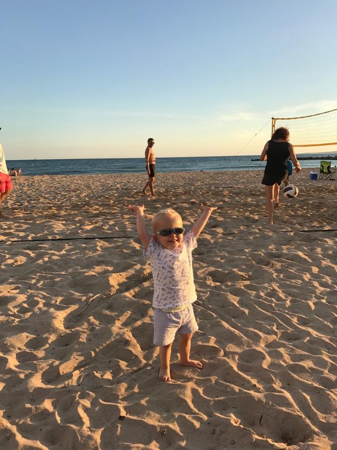 Kinderfreundlicher Strand Playa Ciudad Jardin