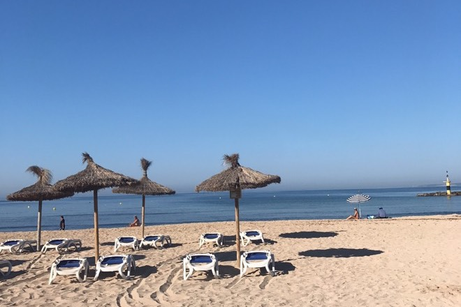 Strandtag am Playa Ciudad Jardin