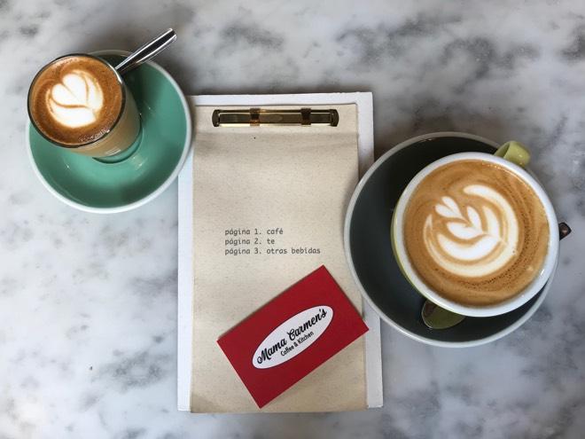 Kaffee im Mama Carmens
